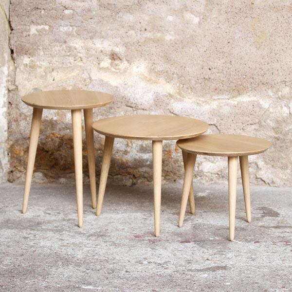 table basse rondes  meuble sur mesure