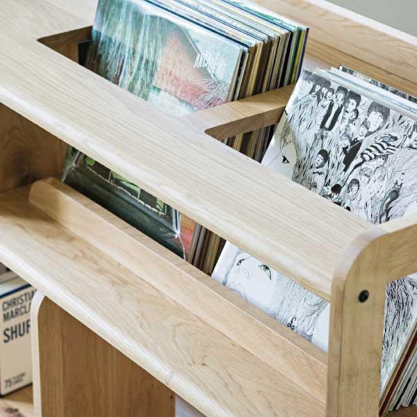 meuble à vinyle meuble sur mesure
