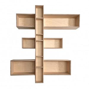 meuble sur mesure etageres en bois