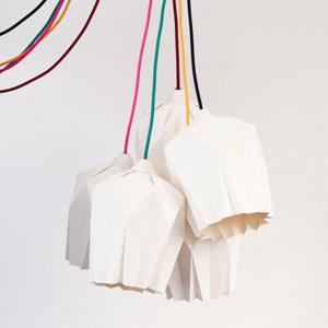 meuble sur mesure lampe origami
