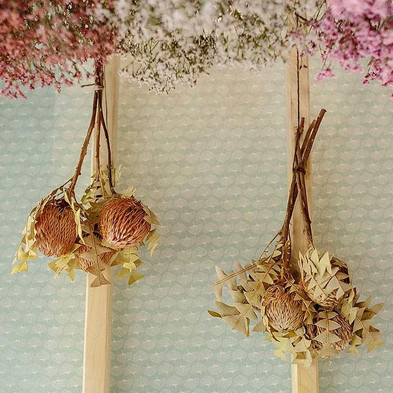 bouquet simple et naturel