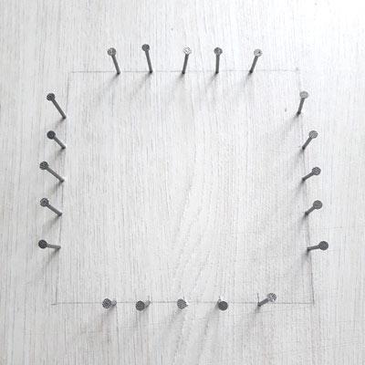 exemple de planche pour confectionner un tawashi