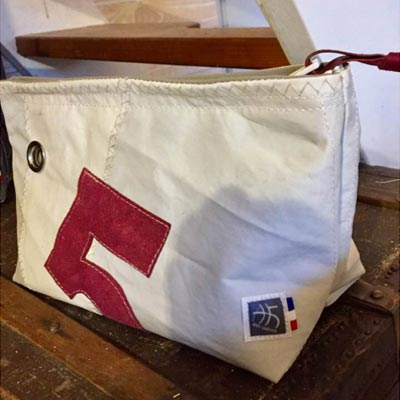 trousse en upcycling