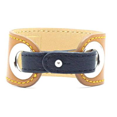 upcycling des bijoux : bracelet maude et fauve
