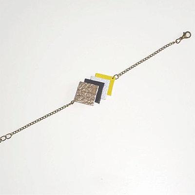 bracelet petite mouette : upcycling des bijoux