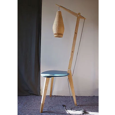 lampe table upcycling