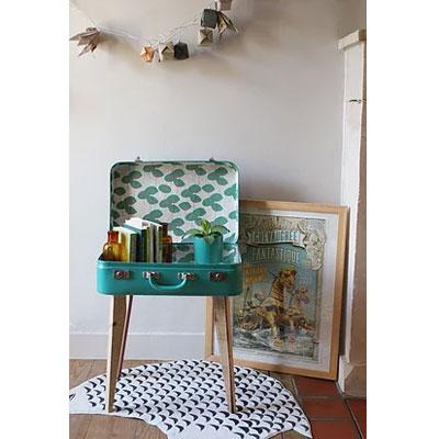 super jolie table valise
