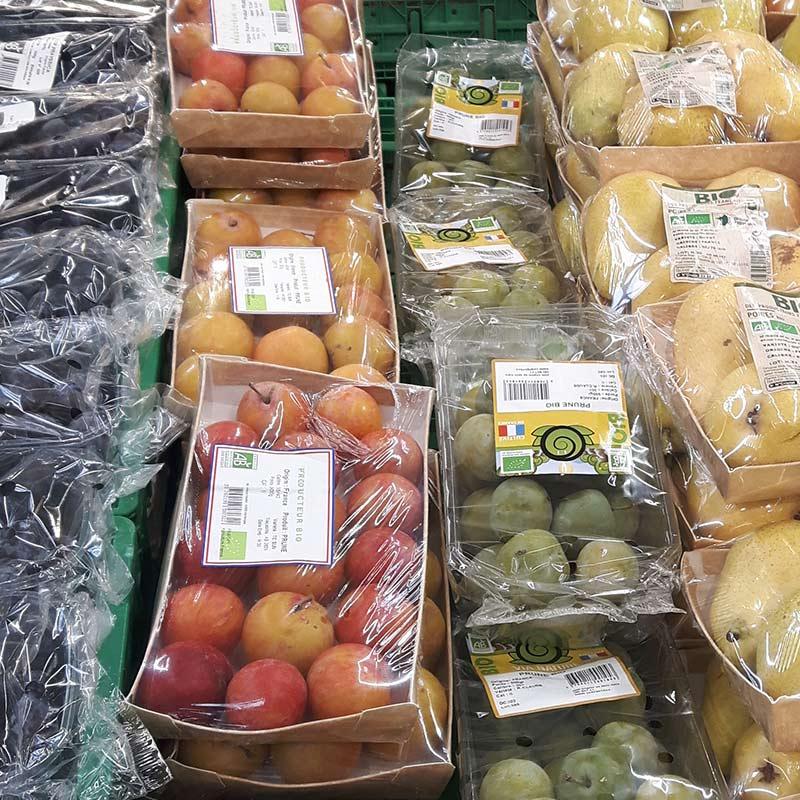 legumes bio des supermarches