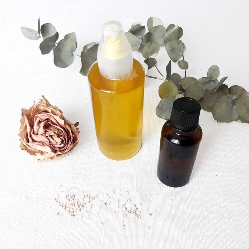 huiles vegetale pour se demaquiller