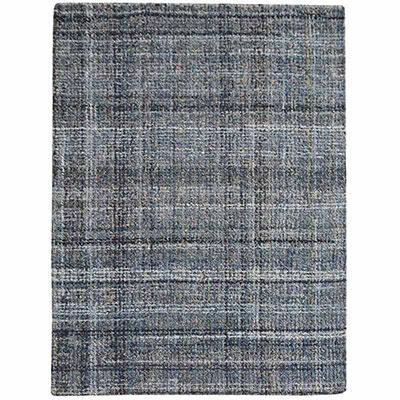 tapis en coton et denim recycle the rug republic