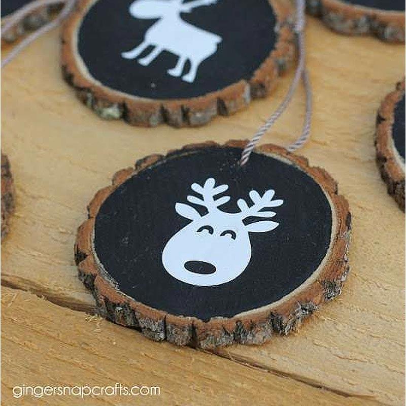 decoration de noel en bois