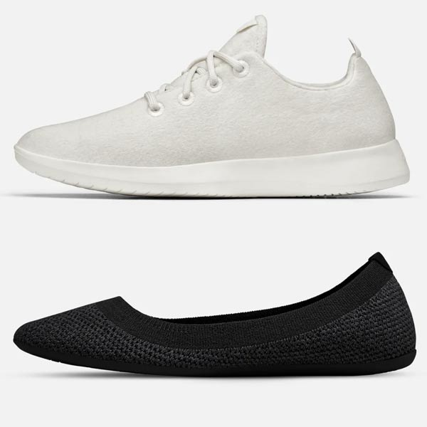 Baskets recyclées Allbirds