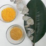 epluchures d'agrumes en poudre