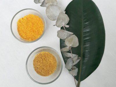 Épluchures #2 : poudre d'orange et de citron.