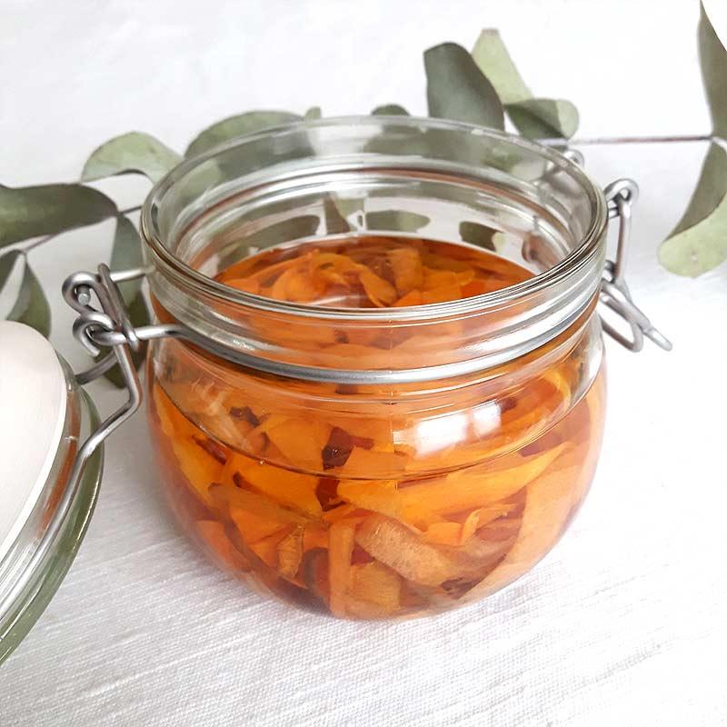 diy macerat de carotte