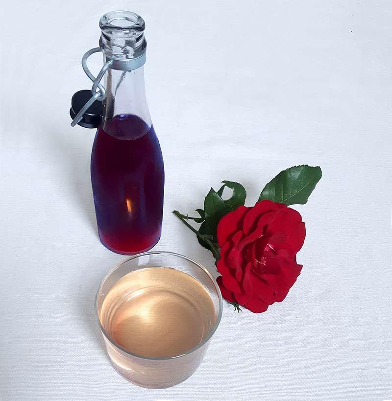 sirop de rose sirop maison