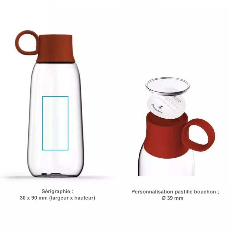 bouteille personnalisable pour les entreprises